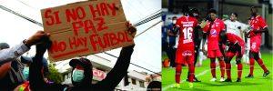 La pelota se mancha, Diego…