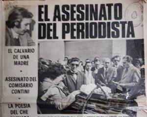 El asesinato de José Colombo, un crimen político que no debe quedar en el olvido